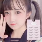 日本假睫毛網紅抖音自然素顏學生新手磨尖透明梗上睫毛特惠款 魔法鞋櫃