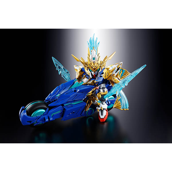 【BANDAI】組裝模型 SD鋼彈 BB戰士 三國創傑傳  趙雲00鋼彈&碧龍驅 07