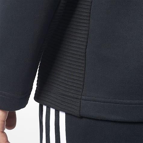 IMPACT ADIDAS CURATED FULL ZIP HOODIE 超好穿 三葉草 連帽外套 黑 運動 經典 百搭 BR2071