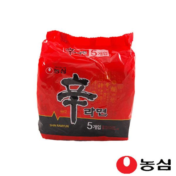 韓流小舖 韓國原裝 (120g*5包/袋) NONG SHIM 農心 辛拉麵 正版韓國內銷款