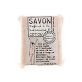 法國 mas du roseau 天然植物油馬賽皂 棉花香100g
