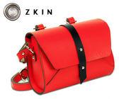 ZKIN Harpy 輕巧相機包 攝影包 火紅 Z4017 真皮材質 小單眼適用 品虹公司貨