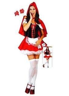 COS萬聖節表演服裝 7個小矮人小紅帽服裝