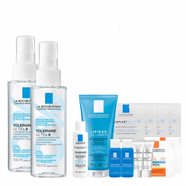 理膚寶水  多容安8效舒敏保濕噴霧100ml雙入特惠組 舒敏保濕