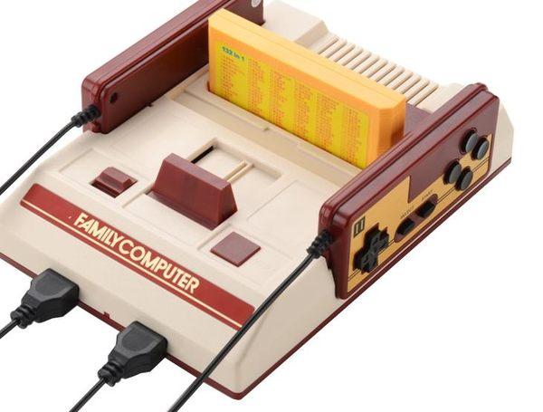 酷孩游戲機家用4k電視老式FC插卡雙人游戲機手柄懷舊紅白機 【免運】LX