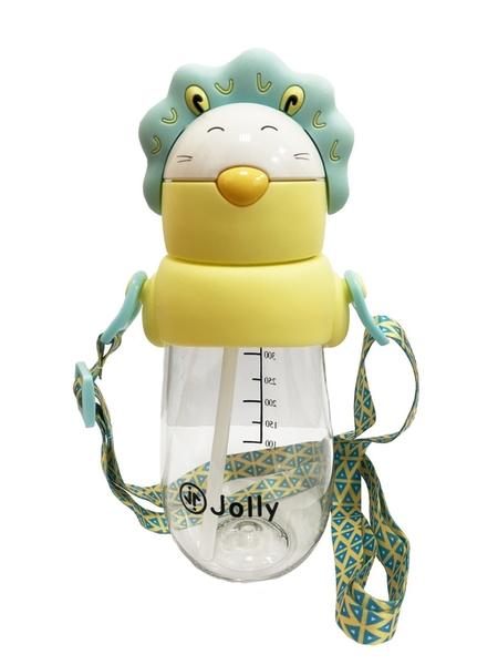 Jolly 可愛動物造型水杯490ml【六甲媽咪】