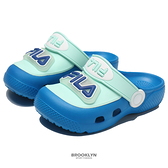 FILA 童鞋 燈鞋 布希鞋 藍色 發光 小童 中童 (布魯克林) 7S853V333