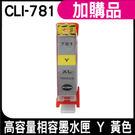 HSP CLI-781XL Y 黃色 高容量相容墨水匣