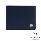 【VOVA】  費城系列5卡窗格皮夾(深海藍)VA118W001NY