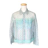 【台中米蘭站】全新品 Louis Vuitton 彩色薄紗牛仔外套(1A7R4Z-彩色)