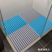 防滑墊 環保浴室衛浴家用洗澡淋浴房墊子衛生間廁所地墊浴缸墊 AW4043【棉花糖伊人】