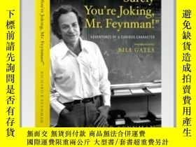 二手書博民逛書店 Surely罕見You re Joking, Mr. Feynman! :Adventures of a Cur