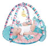 尚思樂新生嬰兒腳踏鋼琴健身架器 寶寶早教音樂游戲墊毯玩具【一周年店慶限時85折】