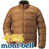 【Mont-Bell 日本 Light Alpine Down男800FP羽絨夾克 深咖】1101428/羽絨夾克