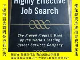 二手書博民逛書店Highly罕見Effective Job SearchY188