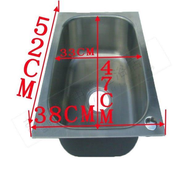水槽單槽不鏽鋼304 大 洗菜盆