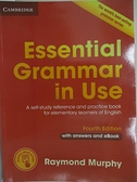【書寶二手書T7/語言學習_KC9】Essential Grammar in Use with Answers and Interactive eBook_紅皮_Raymond Murphy