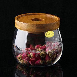 透明玻璃茶具 密封罐
