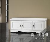 {{ 海中天休閒傢俱廣場 }} G-42 摩登時尚 鞋櫃系列 964-1 烤白4尺座鞋櫃