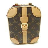 LOUIS VUITTON LV 路易威登 原花斜背小包 Mini Luggage Vertical M68623 【二手名牌BRAND OFF】