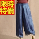 寬管褲長褲休閒-細膩新品精美率性女褲子61f7【巴黎精品】