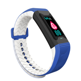 JSmax SC-C90 智慧多功能健康管理運動手環藍色