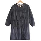 廚房防水防油成人罩衣長袖圍裙