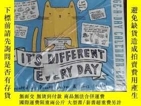 二手書博民逛書店IT'S罕見DIFFERENT EVERY DAY 兒童讀物 英文版Y42402