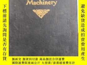 二手書博民逛書店COTTON罕見CARD ROOM MACHINERY(僅見)Y
