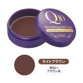 日本DHC Q10一秒逆襲瞬間染髮~銀髮著色膏 -淺棕色