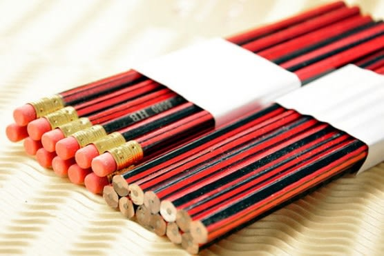 [協貿國際]  優質仿中華HB鉛筆帶橡皮頭學生獎品 (40個價)
