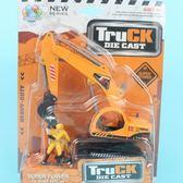 半合金挖土機89608 工程車卡裝一台入促160 ST 安全玩具  佳