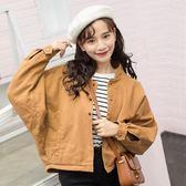牛仔外套女2018秋季新款牛仔衣韓版學生寬鬆百搭短款長袖夾克bf潮