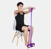 仰臥起坐瘦身捲腹瑜伽腳蹬拉力器彈力繩