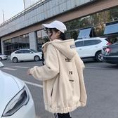 秋冬季年新款衛衣女裝長袖韓版寬鬆加厚超火外套潮 伊蘿鞋包