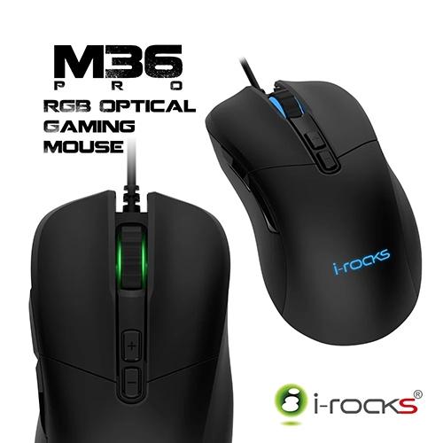 i-Rocks M36 PRO RGB 光磁微動遊戲滑鼠 電競滑鼠