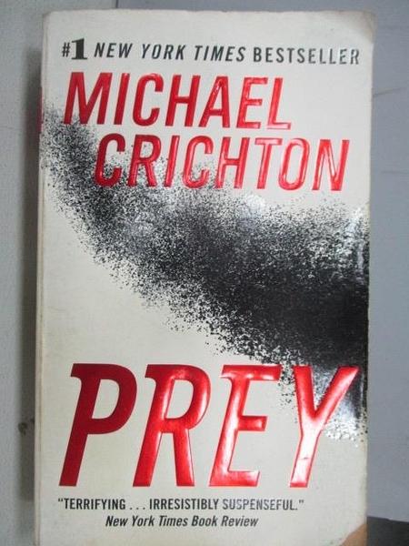 【書寶二手書T5/原文小說_FP1】PREY_Michael Crichton