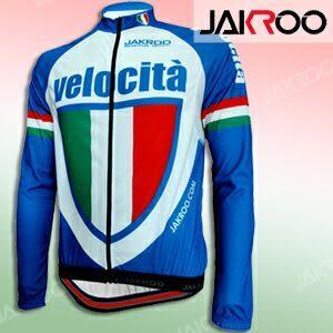 捷酷 義大利藍色款長袖車衣.騎行服.腳踏車衣.自行車衣服.推薦哪裡買專賣店.JAKROO
