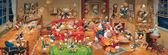 【拼圖總動員 PUZZLE STORY】Disney-歷代唐老鴨大集合 日系/Tenyo/迪士尼/950P/橫幅