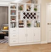 簡約現代酒柜客廳柜玄關柜隔斷柜門廳裝飾柜屏風鞋柜間廳柜儲物柜JY-『美人季』