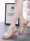 2021夏季新款平底涼鞋女平跟百搭學生孕婦防滑軟底護士鞋子 黛尼時尚精品