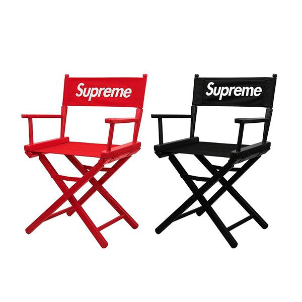 【現貨】Supreme Director's Chair 19SS 導演椅 戶外 椅子 潮流 黑紅 正品 2張入 SD022