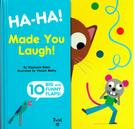 【幼兒操作書】HA-HA MADE YOU LAUGHT/翻翻書《動物認知.幽默》