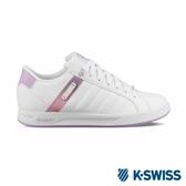 【K-SWISS】Lundahl WT S休閒運動鞋-女-白/粉紫(92533-142)