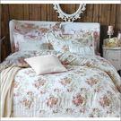 【免運】精梳棉 雙人加大 薄床包舖棉兩用被套組 台灣精製 ~巴黎香頌/米~ i-Fine艾芳生活