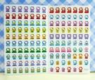 【震撼精品百貨】Hello Kitty 凱蒂貓~KITTY貼紙-心情貼紙-彩色(特別老鼠)