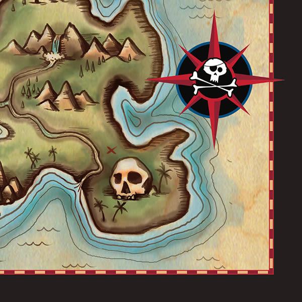 紙巾16入-海盜寶藏