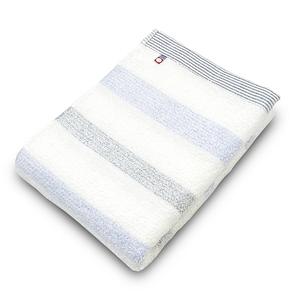 ORIM MULTI BORDER今治浴巾-藍x藍118x58cm