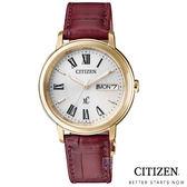 CITIZEN 星辰 (EW2423-10A) 光動能 熱銷 女錶 玫瑰金/32.5mm