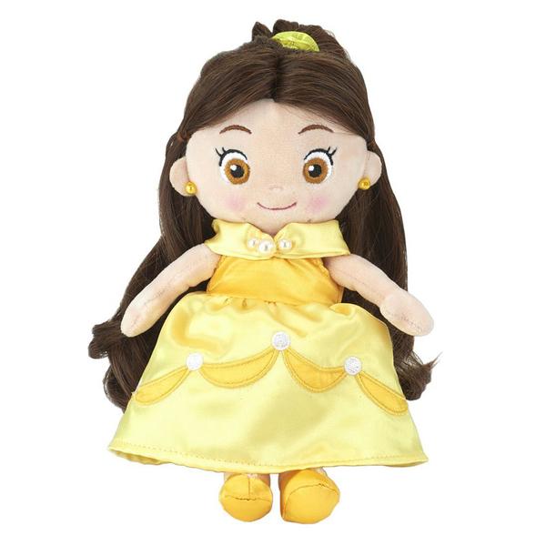 T-ARTS 迪士尼公主 梳髮絨毛娃娃 貝兒_TA23882